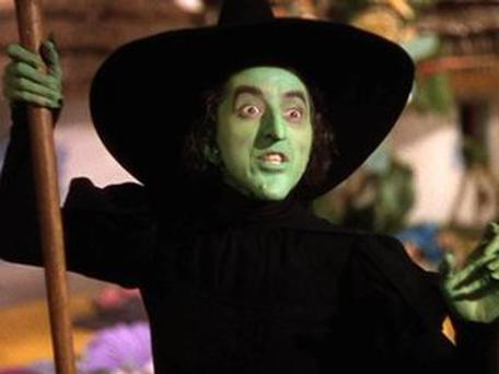 The Wicked witch in the Wizard of Oz.