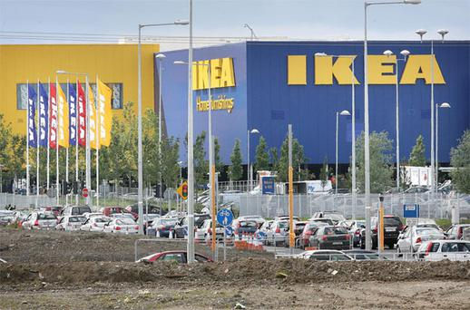 The existing IKEA store in Ballymun