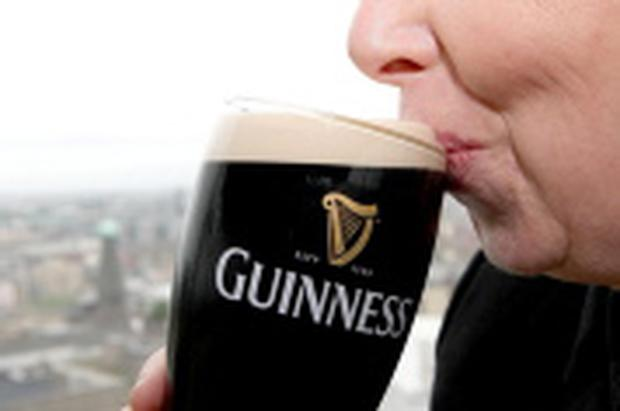 Diageo brews Guinness at St James Gate in Dublin