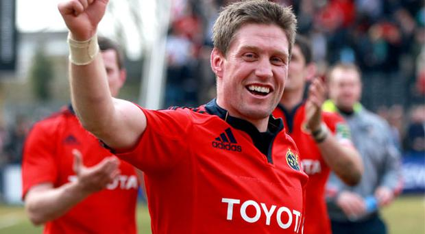 Munster's Ronan O'Gara to move to Paris next season