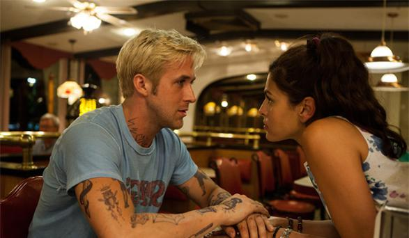 Ryan Gosling and Eva Mendes star in The Place Beyond the Pines