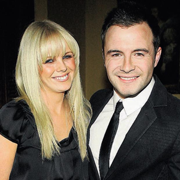 HIGH NOTE: Gillian and Shane Filan