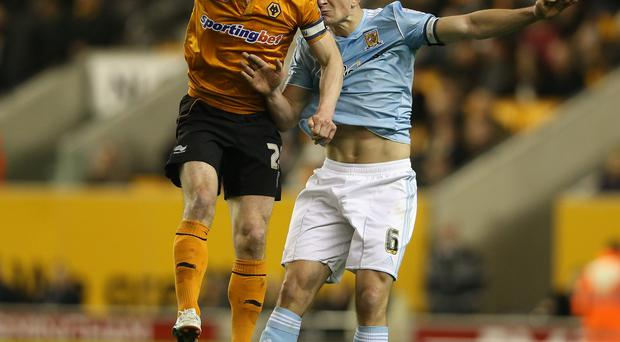 Kevin Doyle in action for current club Wolves