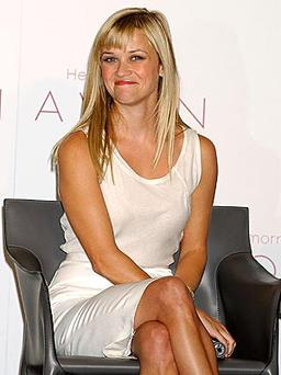 Reese Witherspoon is one of Avons celebrity ambassadors.
