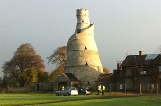Restoration of the Wonderful Barn, between Leixlip and Celbridge in Co Kildare, has been shelved due to cutbacks