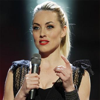 Kathryn Thomas during The Voice of Ireland Live Semi Final