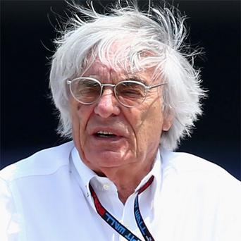 Bernie Ecclestone contends that the Bahraini demonstrators are no different to 'those complaining about Mrs Thatcher'.