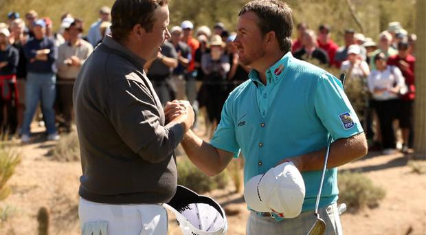 Shane Lowry might get the chance to gain some match play revenge on Graeme McDowell