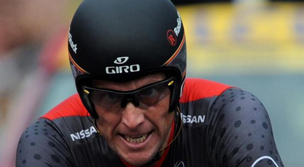 Lance Armstrong. Picture: John Giles/PA Wire.