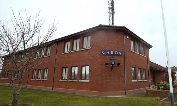 Balbriggan Garda station where the money was stolen