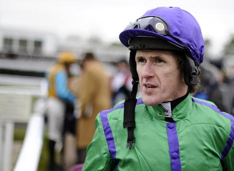 Tony McCoy at Newbury racecourse (Photo by Alan Crowhurst/Getty Images)