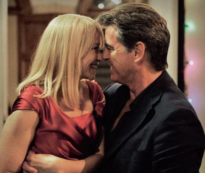 Charming: Trine Dyrholm and Pierce Brosnan in Love is All You Need