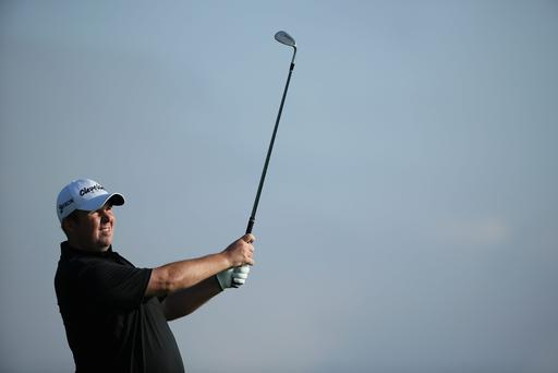 Shane Lowry in action in Valencia
