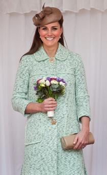 Kate is currently seven months pregnant, with her baby due in July