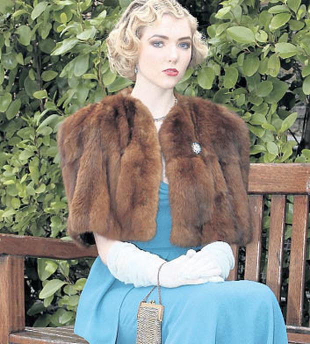 Ellie Connolly models clothes from After Sybil.