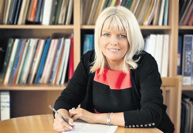 Mary Mitchell O'Connor swapped teaching for the Dail