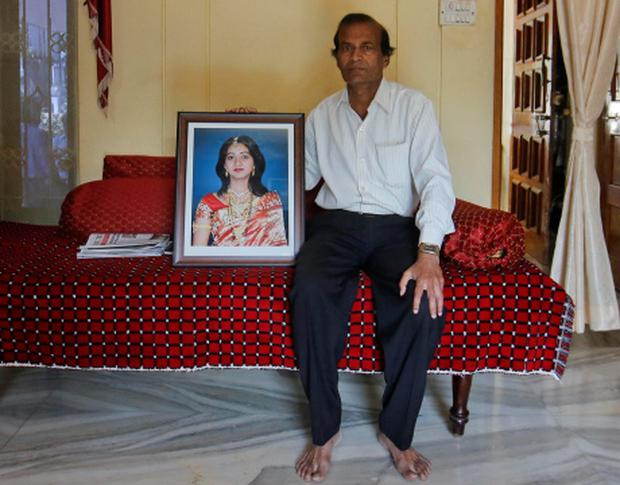 Andanappa Yalagi, father of Savita Halappanavar. Photo: REUTERS