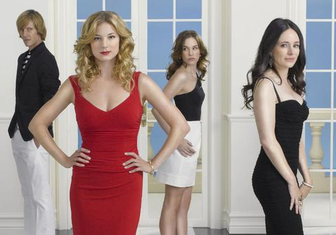 The cast of Revenge.