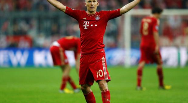 Arjen Robben has revealed his intention to stay with Bayern Munich. Photo: Reuters