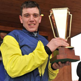 Jockey Davy Condon the Powers Gold Cup