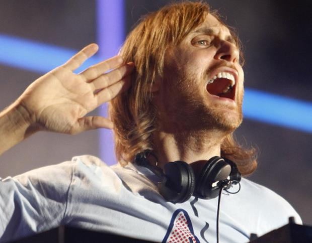 DJ David Guetta. Photo: Reuters/Darrin Zammit Lupi