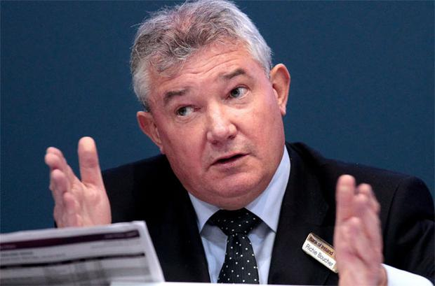 Bank of Ireland Group Chief Executive Richie Boucher, pictured at the bank's AGM
