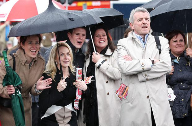 Michael O'Leary (right).