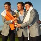 Padraig Harrington, Graeme McDowell and Rory McIlroy all make the rich list