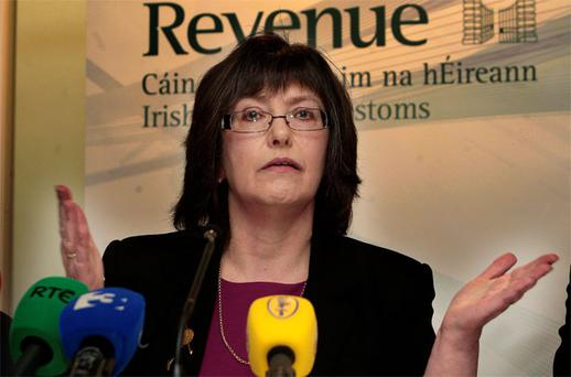 Josephine Feehily: pleased with the number of property tax returns filed so far