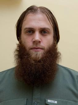 Richard Dart who was jailed for six years at the Old Bailey in London today for terrorist offences.