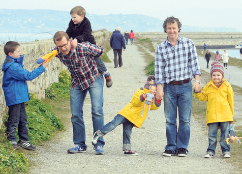 Joe Donnelly and Tom Dunne have very different experiences with raising boys and girls