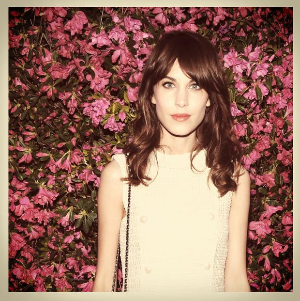 Alexa Chung attends the Chanel Tribeca Film Festival Artists Dinner on April 24, 2013 in New York City.