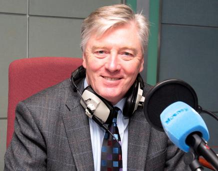 Pat Kenny. Photo: Tom Burke