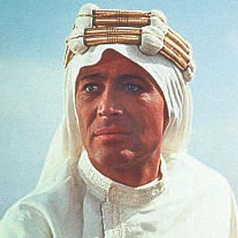 STAR PART: Peter O'Toole as Lawrence of Arabia