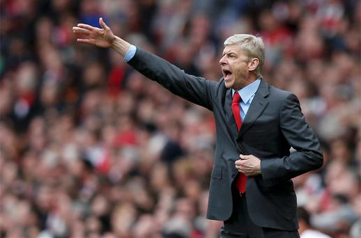Au revoir? Arsène Wenger's 17-year reign at Arsenal may be about to come to an end with Paris St-Germain keen to recruit the Frenchman