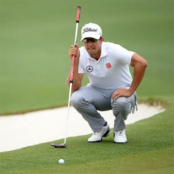 Adam Scott is one of four of the past six Major winners to use a long putter – something which legendary Lee Trevino feels offers an unfair advantage