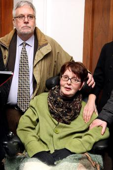 A nation's heart goes out to Marie Fleming and her loving partner Tom