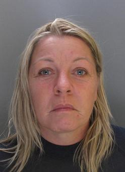 Melanie Smith, 43, who has been found guilty of murdering five members of the same family