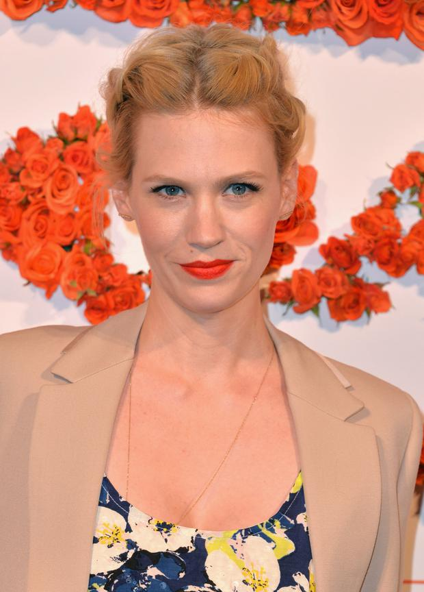 January Jones who plays Betty Draper in Mad Men