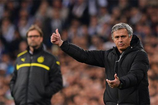 Jose Mourinho may be heading for the exit door at Real Madrid after their defeat to Borussia Dortmund