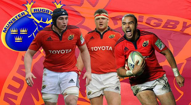 Tommy O'Donnell, Dave Kilcoyne and Simon Zebo have been nominated by their Munster team-mates – now you get to have your say.