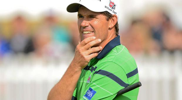 Padraig Harrington has plenty to ponder after yesterday's nightmare round
