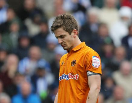 Kevin Doyle during tough times at Wolves last season