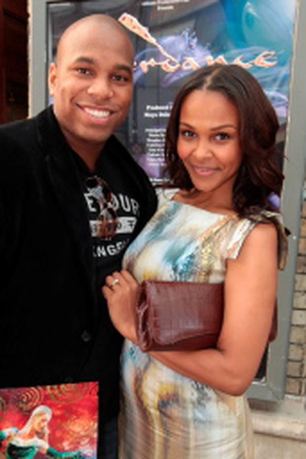 Samantha Mumba with husband Torray Scales. Photo:Collins