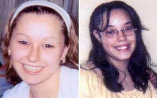 Amanda Berry (L) and Georgina DeJesus (R), both who went missing as teenagers about a decade ago