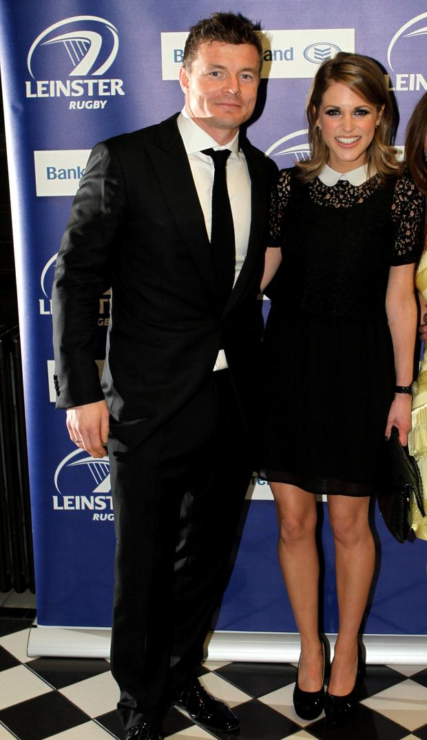 Brian O'Driscoll and Amy Huberman. Photo: Declan Masterson Photography