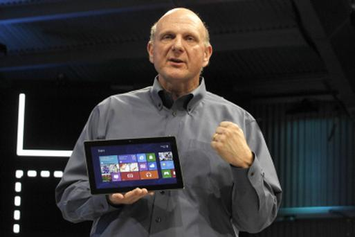 Steve Ballmer, chief executive officer of Microsoft Corp