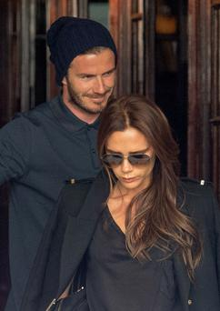 Victoria Beckham surprised her husband with a