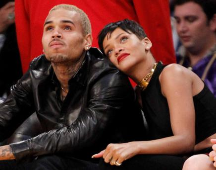 Rihanna and Chris Brown. Photo: Reuters