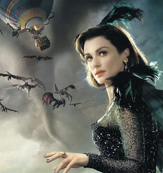 Rachel Weisz as Evanora, one of the witches in 'Oz: The Great and Powerful' – the prequel to 'The Wizard of Oz' – which helped drive profits at Walt Disney this year.